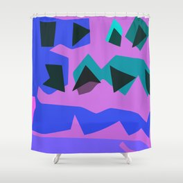 Purple Purple Shower Curtain