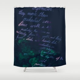 """""""Conquest of the Useless"""" by Werner Herzog Print (v. 10) Shower Curtain"""