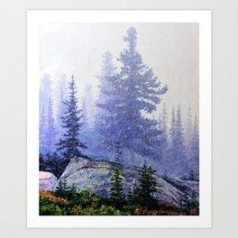 TAIGA Art Print