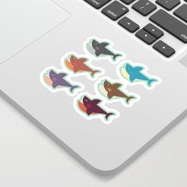 Snarky Sharky Sticker