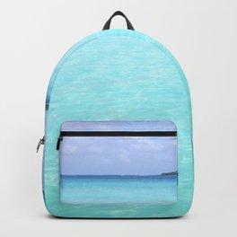 Aqua Water Island Dreams Backpack