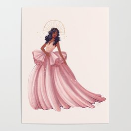 Belle of the Ball - Sza Poster