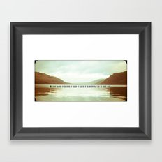 The moments that take our breath away.  Framed Art Print