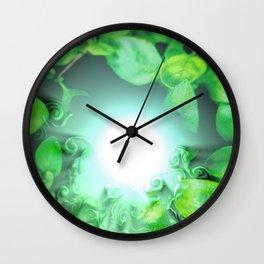Dissolving nature Wall Clock