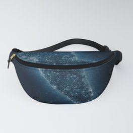 Splash Whale Fanny Pack