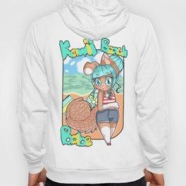 Kawaii Beach Babe Hoody