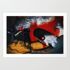 The Mountain and the Whale Art Print