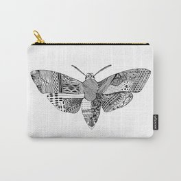 Death Head Moth Carry-All Pouch