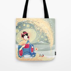 Turning Japanese Tote Bag