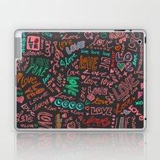 Love Love Love - ballpoint doodles - 2 Laptop & iPad Skin