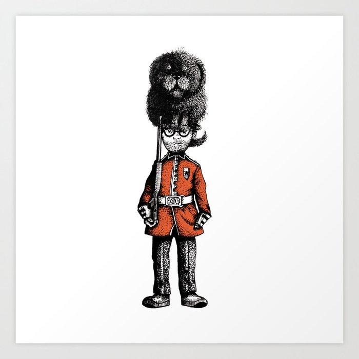 London Guard Art Print