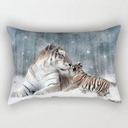 Tigers Rectangular Pillow