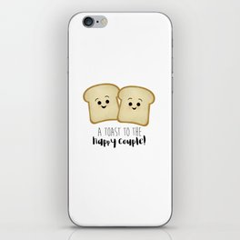 A Toast To The Happy Couple! iPhone Skin