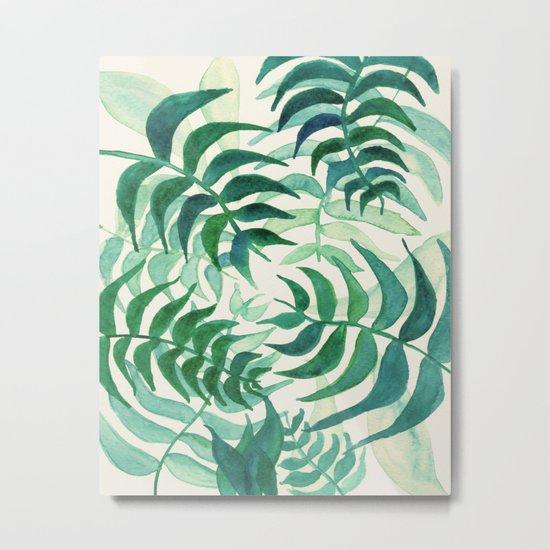 Botanical vibes Metal Print