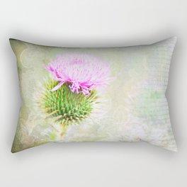 Blessed Thistle Rectangular Pillow
