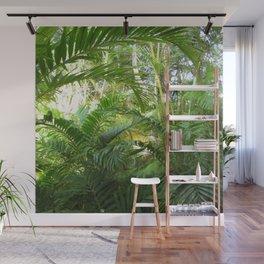 Tropical Garden Paradise 2 Wall Mural