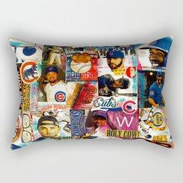 Go CUBS Go! Rectangular Pillow