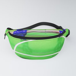 Figures of a foosball table Fanny Pack