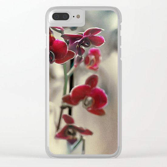 The mystery of orchid(11) Clear iPhone Case