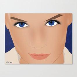 Katie Holmes Canvas Print