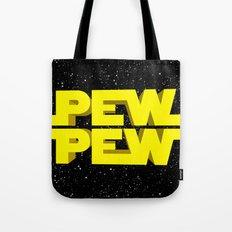 Pew Pew 3D Tote Bag