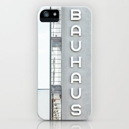Bauhaus Building in Dessau iPhone Case