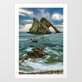 Bow Fiddle Rock Art Print