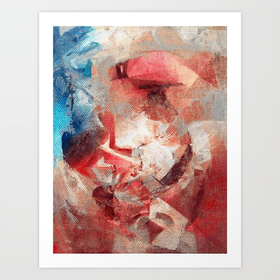 Anthropophagic Deliriums Art Print