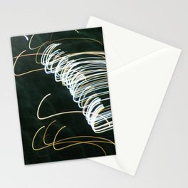Fireworks trails Stationery Cards
