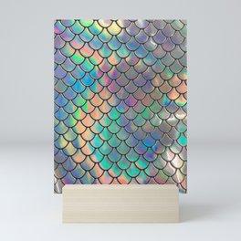 Iridescent Scales Mini Art Print