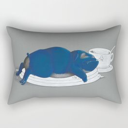 Time to wash the dishes... Rectangular Pillow