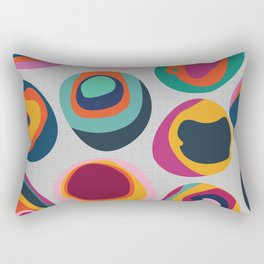 Rainbow Resin Rectangular Pillow