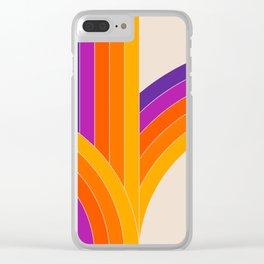 Bounce - Rainbow Clear iPhone Case