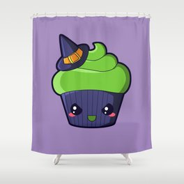 Spooky Cupcake - Wicked Witch Shower Curtain