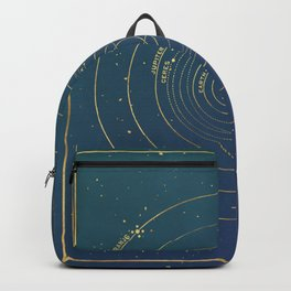 Golden System Backpack