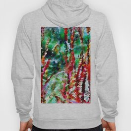 Autumn Grasses Abstract Hoody