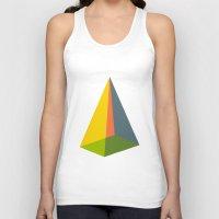 pyramid Tank Tops featuring Pyramid by MAGNA