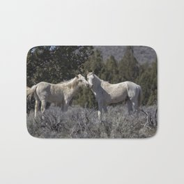 Wild Horses with Playful Spirits No 1 Bath Mat
