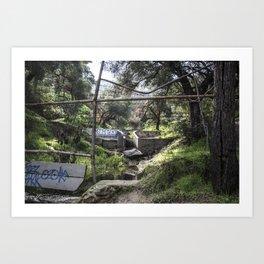 Escape Route Art Print