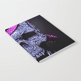 Skull and snake Notebook