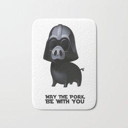 Star Wars Pig Darth Vader Bath Mat