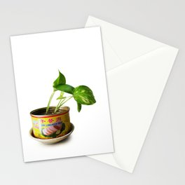 luncheon meat plant Stationery Cards
