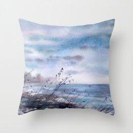 Windsong Throw Pillow
