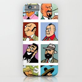 tintin iPhone Case