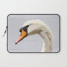 Elegance: Swan Laptop Sleeve