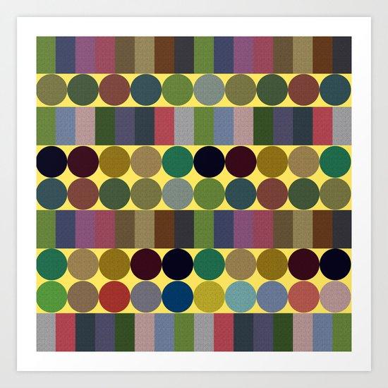 Pattern #38 Art Print