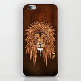 Dreadlock Lion iPhone Skin