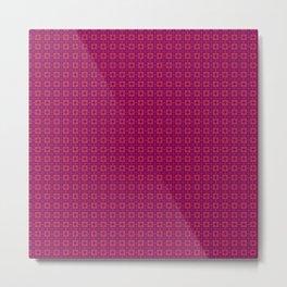 Red & Purple IX Metal Print