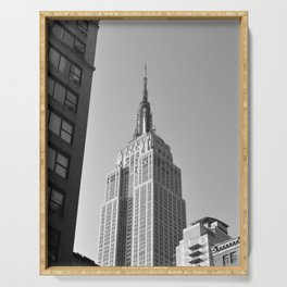 New York Landmark Serving Tray