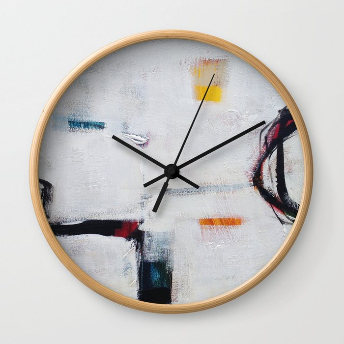 Inner Workings II Wall Clock